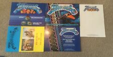 Gerry Anderson Terrahawks Promo Pack, Headed Notepaper 1984 Rare