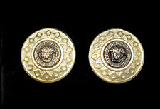 "Genuine Versace Medusa Cufflinks 20mm 3/4"" Exquisite"