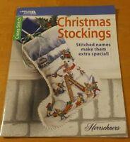 CHRISTMAS STOCKINGS LEISURE ARTS HERRSCHNERS CROSS STITCH BOOK