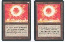 Sonnenring - Deutsch Limited Edition - Magic MTG - zwei verfügbar