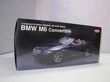 08704BL KYOSHO BMW M6 Convertible ( Blue ) - Rarität - 1:18