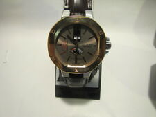 Clerc Men's 'Icon 8' TWO TONE Watch, POWER RESERVE AND BOX AND PAPERS