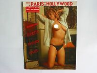 MAGAZINE FOLIES DE PARIS HOLLYWOOD N° 487 COMPLET AVEC POSTER