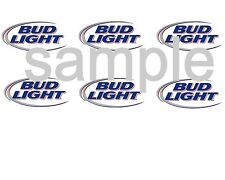Bud Lite Beer Logo Edible Party Image Cupcake Topper Frosting Icing Sheet Circle