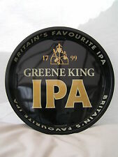 "IPA Greene King 12"" Metal Serving Beer Bar Drinks Tray Home / Pub / Party New"
