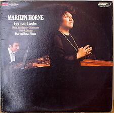 MARILYN HORNE: German Lieder-NM1974LP w/ TEXT INSERT UK PRESSING/US RELEASE