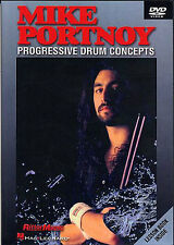 Mike Portnoy Progressive Drum Concepts Learn to Play Drummer Music DVD