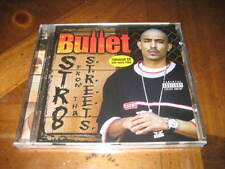 Chicano Rap CD Bullet - Str8 from tha Streets - Trouble Candyman 187 West Coast