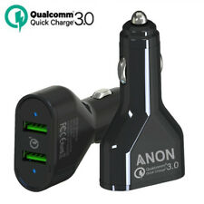 Quick Charge 3.0 In Car Charger 2 Ports USB Qualcomm QC Fast Charging Adapter