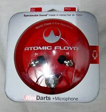 Atomic Floyd Mini Darts & Microphone in Ear Headphones - New