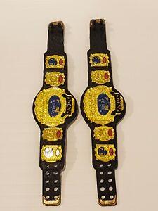 WWE Elite WcW Tag Team Title Belts