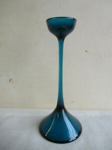grosser alter Kerzenhalter Leuchter WMF Glas Cari Zalloni 60er 70er Jahre