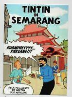 PASTICHE. Carte postale Tintin - TINTIN IN SEMARANG - Hors Commerce 2015