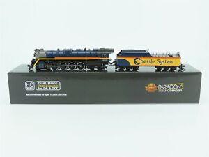 HO Broadway Ltd BLI 5774 Chessie Steam Special 4-8-4 Steam Loco #2101 DCC Sound