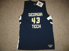 NWT NEW Georgia Tech NCAA College Basketball Jersey L Russell Athletic Team ACC