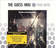 THE BEST OF THE GUESS WHO CD THE GUESS WHO BRAND NEW SEALED