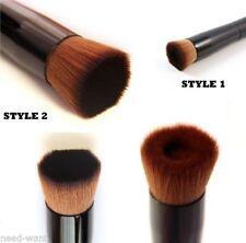 Synthetic Fibre Angled Liquid Make-Up Brushes & Applicators