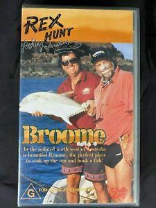 Rex Hunt Fishing Adventures Broome VHS