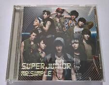 Super Junior Mr. Simple Normal Edition  Japan Press CD  - NO PHOTOCARD