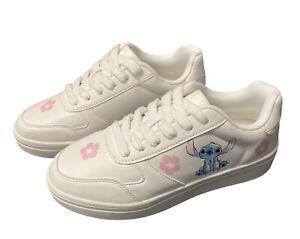 BNWT Disney Stitch Primark flower ladies girls trainers shoes pumps UK 3 to 8