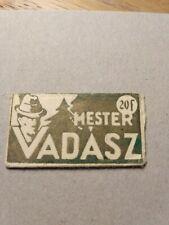 Old Wrapper with Razor blade / Lame de Rasoir / Rasierklingen - Vadász - Hunter