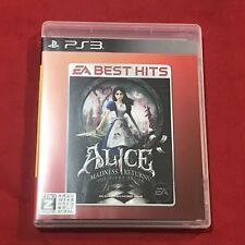 oc0027 Exc PS3 PlayStation 3 Alice: Madness Returns EA Best Hits JP J