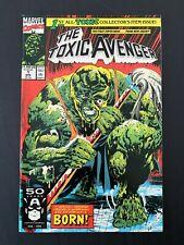 THE TOXIC AVENGER #1 MARVEL COMICS 1991 NM+