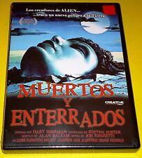 MUERTOS Y ENTERRADOS / Dead & Buried 1981 ENGLISH / ESPAÑOL DVD R2 - Precintada