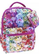 """Shopkins 16"""" Backpack Wiith Penicel Case"""
