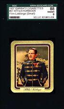 Attila Horbiger -1937 Garbaty Film Lieblinge Card #67; Passion Cig; SGC 8 (NM-M)