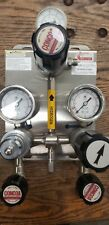 Concoa Stainless Steel Switch Over Manifold Pressure Regulator Hydrogen