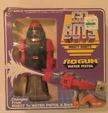 VINTAGE - Go Bots Mighty Robots RoGun Water Pistol - MIB - ARCO 1984