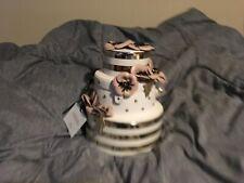 NWT Kate Spade Wedding Belles Cake Gold Bag Purse Clutch RARE!