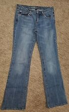 REFUGE FLAIR BOTTOM JEANS WOMENS SIZE 7 MED WASH