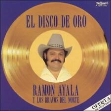 Ramon Ayala y sus Bravos del Norte El Disco de Oro 15 Clasicas CD New Sealed