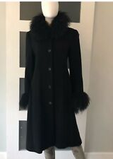 NWT! SEARLE COAT W/ MONGOLIAN LAMB FUR TRIM TIBET! $1600
