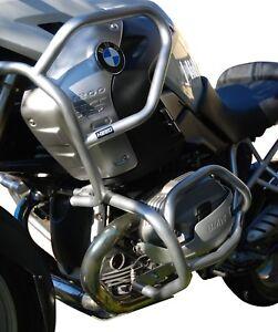 Paramotore Crash Bars HEED BMW R 1200 GS (2008-2012) - Full Bunker argento