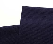 BLU NAVY MISTO LANA TESSUTO Abito Vintage materiale tubolare Knit NAUTICO PIRATA