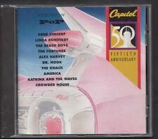 POETRY IN POP 1992 CAPITOL CD LINDA RONSTADT CROWDED HOUSE THE KNACK ALEX HARVEY