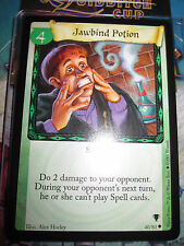 HARRY POTTER TRADING CARD TCG QUIDDITCH CUP JAWBIND POTION 40/80 UNCO EN MINT