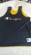 Vintage 70's Champion Brand Revesable Workout Jersey Size XL Rare Made in USA