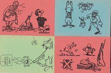 SERVIZIO MILITARE - Serie 12 Cartoline - Andrea Pazienza, Silver, Cavezzali, Zap