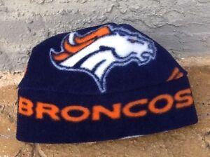 NFL Denver Broncos Fleece Hat Handmade Newborn Baby Boys, Girls,Children & Adult