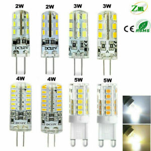 1/6 / 10X G4 G9 LED Bulb 2W 3W 4W 5W Halogen Capsule Light Bulbs Bulbs Corn Bulb