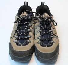 Vintage REEBOK Men s Hiking Shoes Low Boots Brown Suede Black RARE Size 8.5 d9a6b64cf
