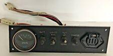 Trolling Motor Control Panel W/ Volt Gauge