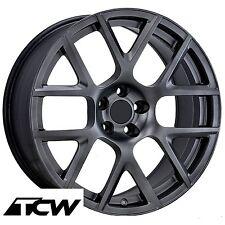 "20 inch 20x9"" Dodge Challenger R/T Scat Pack OE Replica Satin Black Wheels Rims"