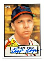 2011 Topps Lineage Autograph Cloyd Boyer St. Louis Cardinals 1952