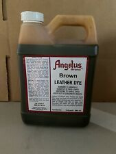 Angelus Brown Leather Dye Quart