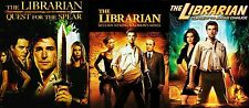 The Librarian: Noah Wyle Trilogy Complete Film 1 2 3 Movie Series (3-DVD)NEW